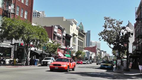 San Diego Downtown 01 Footage