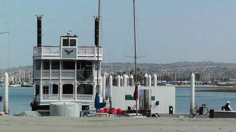 San Diego Mission Bay 13 Stock Video Footage