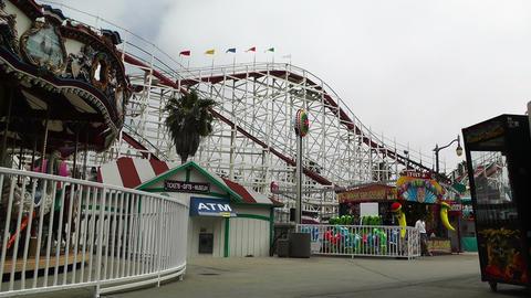 San Diego Mission Bay Amusement Park 02 Footage
