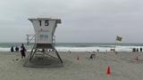 San Diego Mission Bay Beach 07 lifeguard station Footage