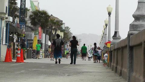 San Diego Mission Bay Beach 09 Stock Video Footage