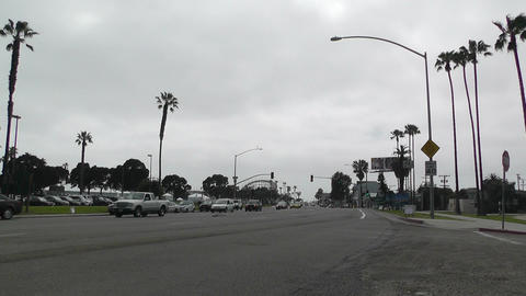 San Diego Mission Bay Drive 01 Stock Video Footage