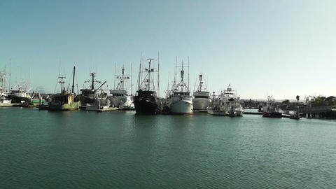 San Diego Port 01 Stock Video Footage