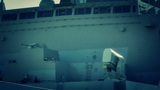 San Diego US Naval Base USS San Diego LPD22 battleship 10 stylized Footage