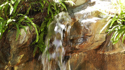 Tropical Waterfall 01 60fps native slowmotion Footage