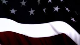 USA Flag closeup stylized Footage