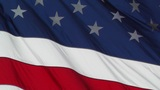 USA flag in strong wind 60 fps native slowmotion 03 Footage