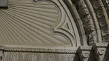 Qingdao Catholic Church's baroque carved stone sculpture Footage