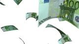 Falling Euro (Loop on White) Animation
