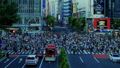 [Time Lapse] Shibuya Cloud part.01 ビデオ