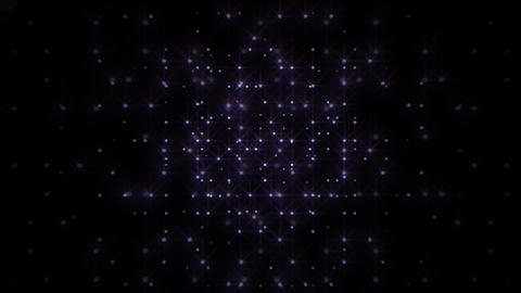 LED Light Space Hex 4r A HD Animation