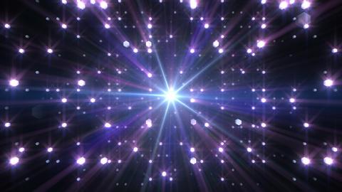 LED Light Space Hex 4s Av HD Stock Video Footage