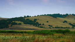 Rolling hills scenery timelapse Stock Video Footage