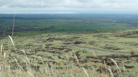 Landscape from Masaya vulcano Footage