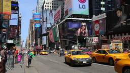 Times Square, New York - Time Lapse Footage
