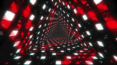 VJ Loop Red Tunnel 2 Animation