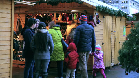 Christmas market Live Action