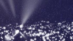 Lighting snowfall Animation