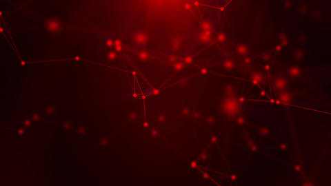 Red plexus background Animation