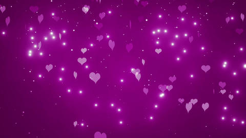Valentines Hearts Animation