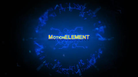 Futuristic Logo After Effects Template