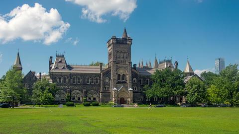 Toronto, Canada - Hyperlapse - University of Toronto Filmmaterial