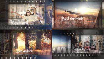 Trip and Travel Slideshow After Effects Project