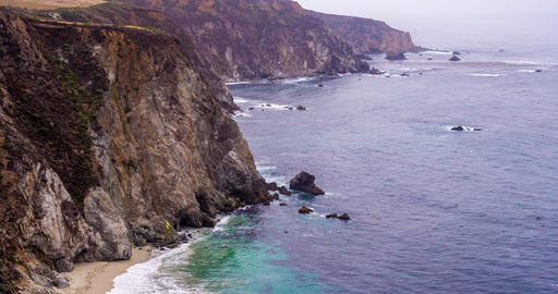 Landscape Central Coast of California Footage