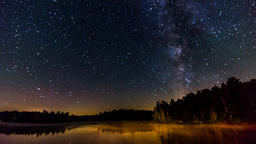 Algonquin Provincial Park , Canada, Timelapse - The Milky Way Footage