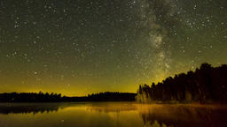 Algonquin Provincial Park , Canada - Timelapse - The Milky Way Footage