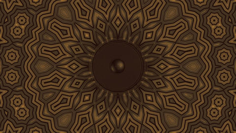 decorative kaleidoscope vj loop background Animation