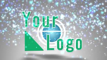 3D particle logo Plantilla de After Effects