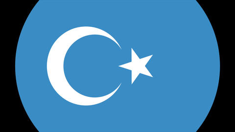 East Turkestan Alpha-4K MP4 Animation