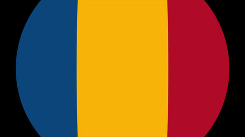 Romania Alpha-4K MP4 Animation