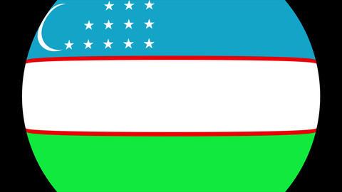 Uzbekistan Alpha-4K Animation