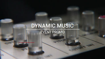 Music Event After Effects Projekt