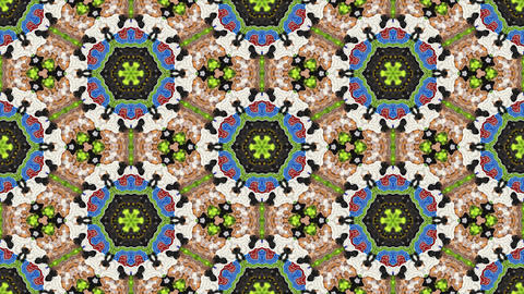 Kaleidoscopic vj seamless loop Animation