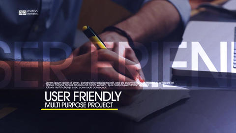 Corporate Promo ME After Effects Template