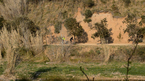 Mountain Bike Enthusiasts Live Action