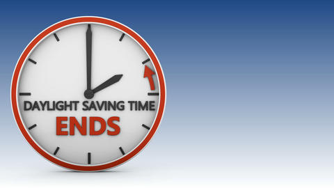 Daylight saving time 02 Animation