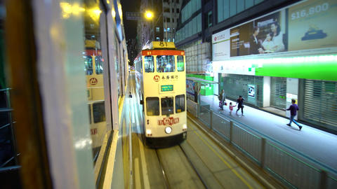 Hong Kong Tram Ride Footage