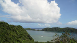 Tropical lagoon,sea, beach. Tropical island. Catanduanes, Philippines Footage