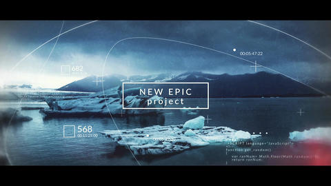 Epic Slideshow After Effects Template