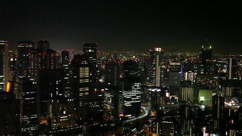 大阪の夜景 ビデオ
