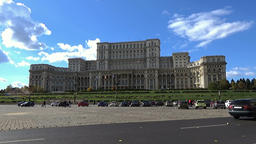 Palace of the Parliament in Bucharest, Romania Footage