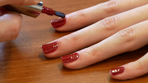 Woman on manicure close-up 영상물