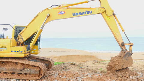 Excavator Footage