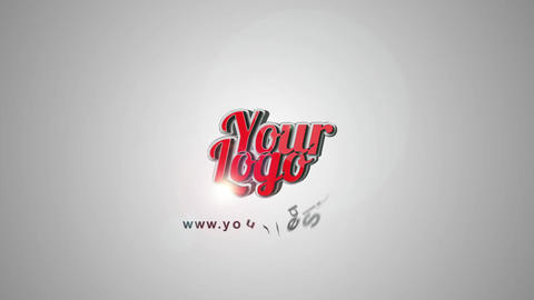 Simple 3 D Logo After Effects Template