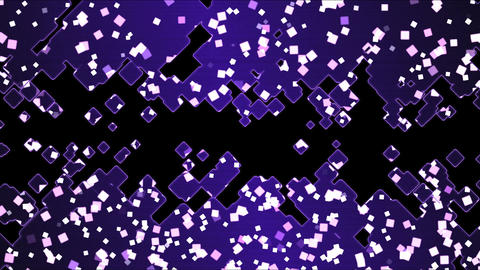 Abstract Square Shapes Background Animation - Loop Purple Animation