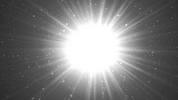 Abstract Silver Background With Rays Sparkles Animation